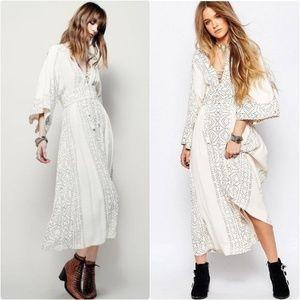Modern Kimono' Maxi Dress